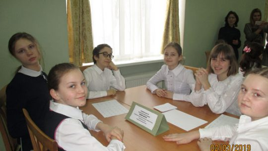 Учащиеся нашей Воскресной школы приняли участие в турнире «Своя игра» по основам Православной веры