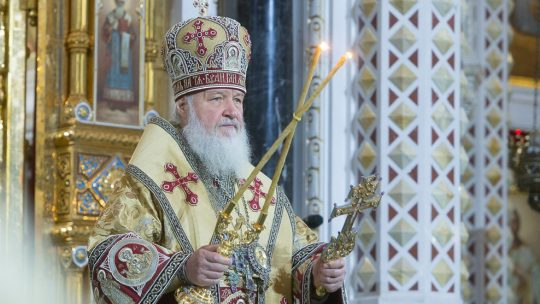 Святейший Патриарх Кирилл отмечает день своего тезоименитства