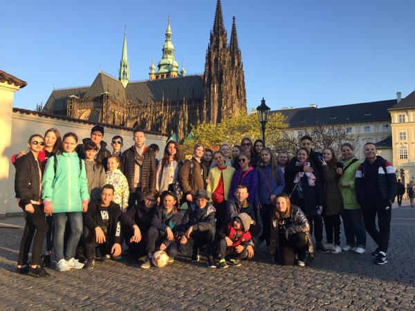 Историко-краеведческая поездка молодежного клуба «Аксиньинцы» в Прагу