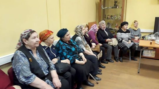 Таинство Елеоосвящения прошло в Центре социального обслуживания района Левобережный