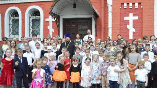 Пасхальный спектакль учащихся воскресной школы