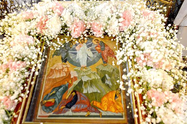 Праздник Преображения Господа Бога и Спаса нашего Иисуса Христа