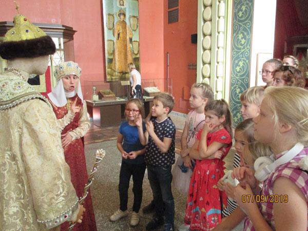 Группа воскресной школы в Аксиньино посетила Исторический музей
