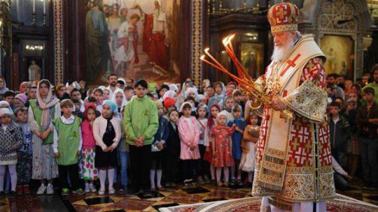 Анонс. Божественная литургия для детей