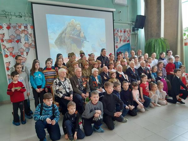23 февраля учащиеся, родители и педагоги воскресной школы храма в Аксиньино приняли участие в семейном празднике, организованном приходом святых страстотерпцев Бориса и Глеба в Дегунине