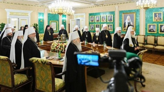 Заявление Священного Синода в связи с распространением коронавирусной инфекции