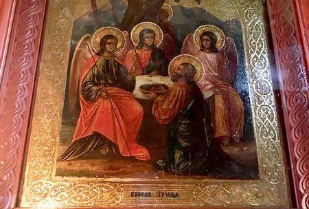 Поздравляем наших прихожан с Днём Святой Троицы!