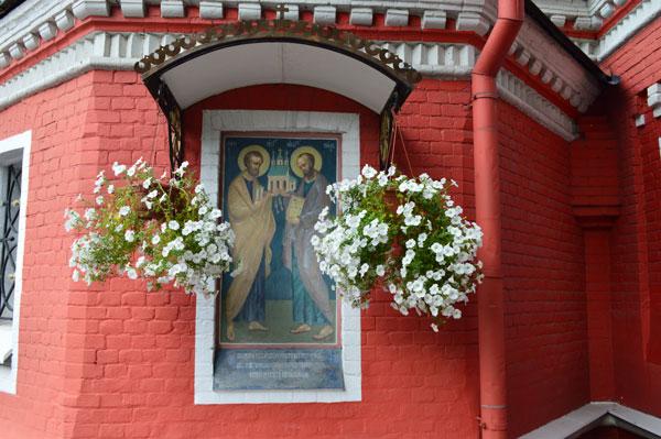 Престольный праздник в храме Иконы Божией Матери «Знамение» в Аксиньино — день памяти святых первоверховных апостолов Петра и Павла